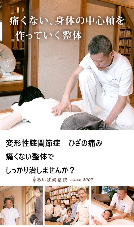 ひざの痛み 変形性膝関節症  人物のイラスト